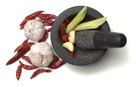Ingredients - Mortar & Pestle